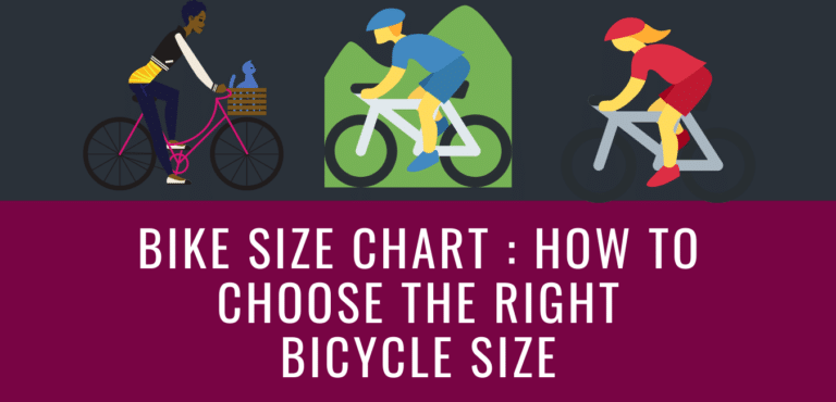 Bike Size Chart How To Choose The Right Bicycle Size